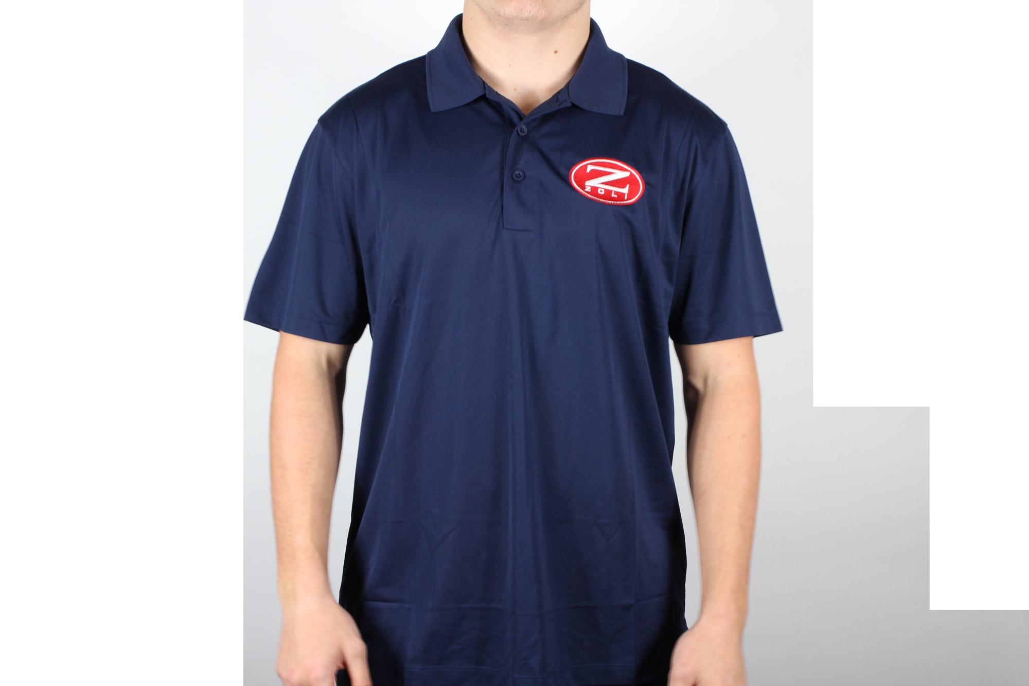 Zoli Embroidered Polo Shirt ( Navy )