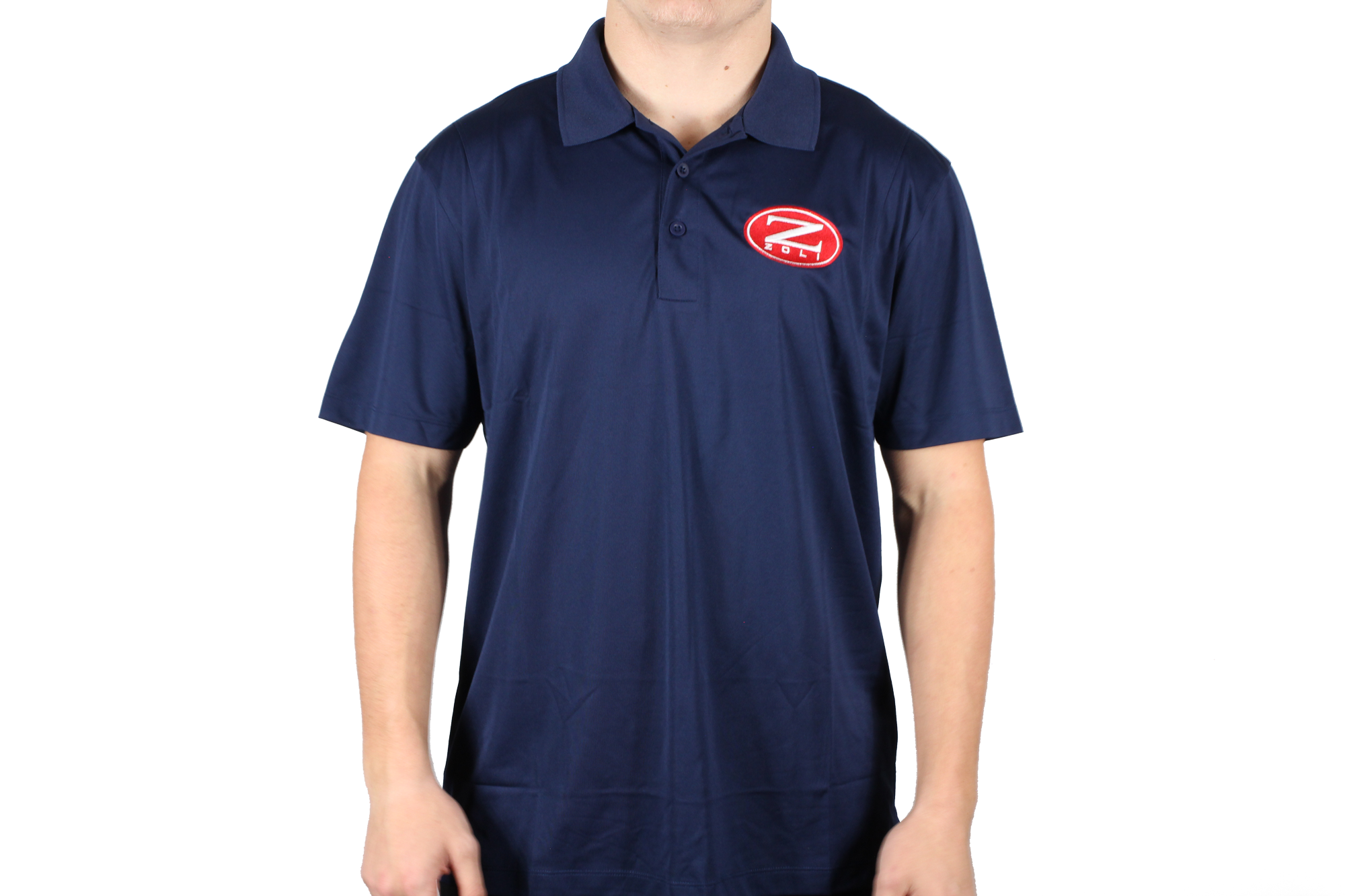Zoli Embroidered Polo Shirt ( Navy )