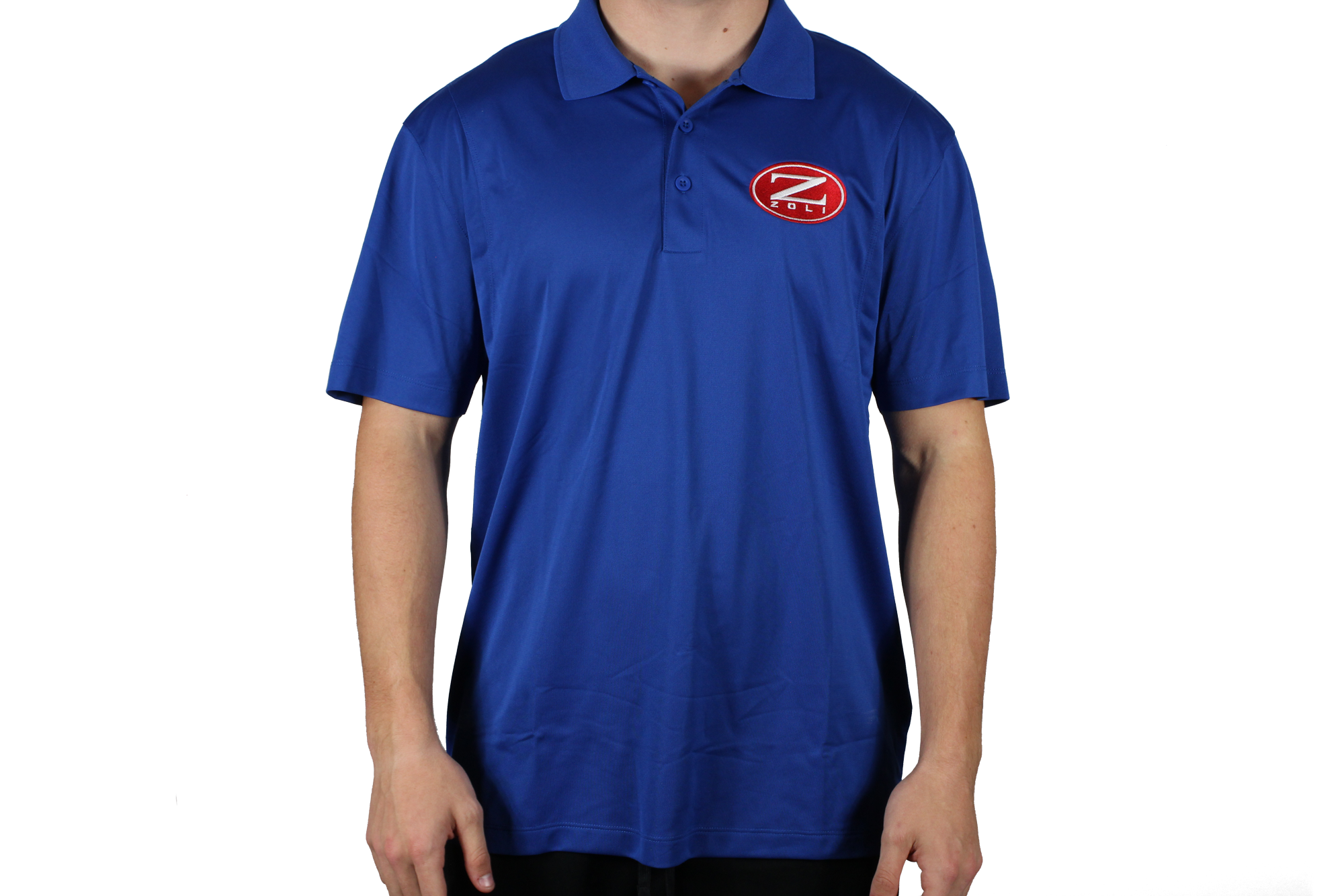 Zoli Embroidered Polo Shirt ( Royal )