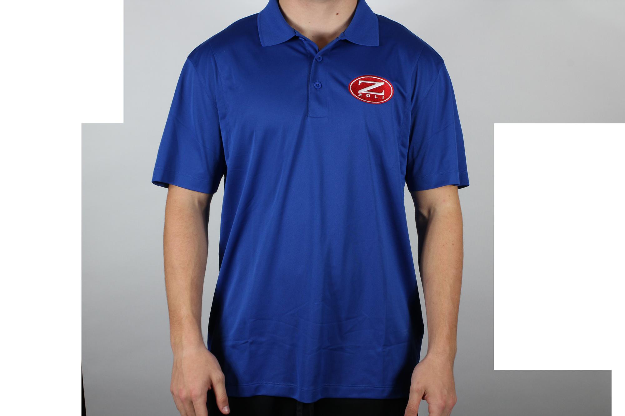 Zoli Embroidered Polo Shirt ( Royal )