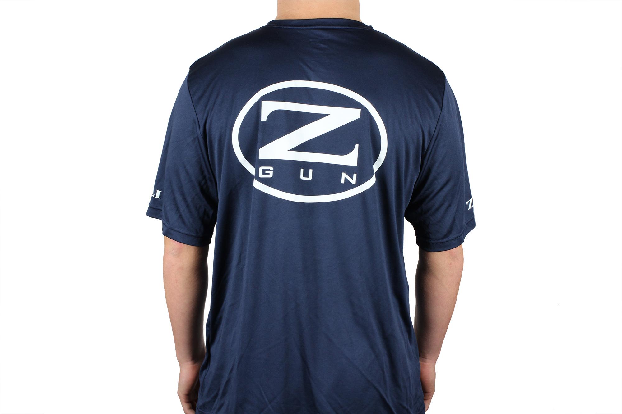 Zoli Z-GUN Navy Sport Shirt back