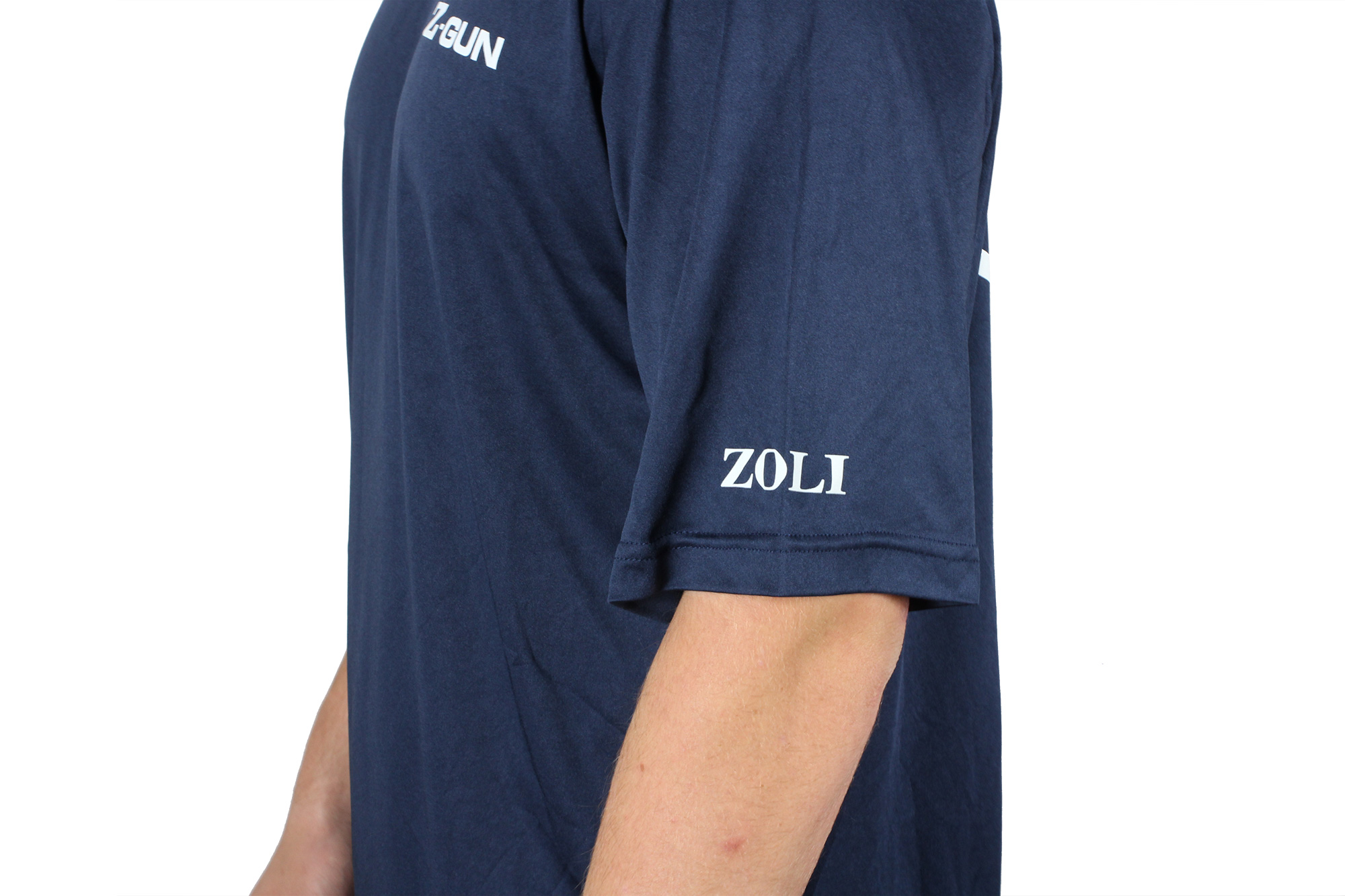 Zoli Z-GUN Navy Sport Shirt Leftside