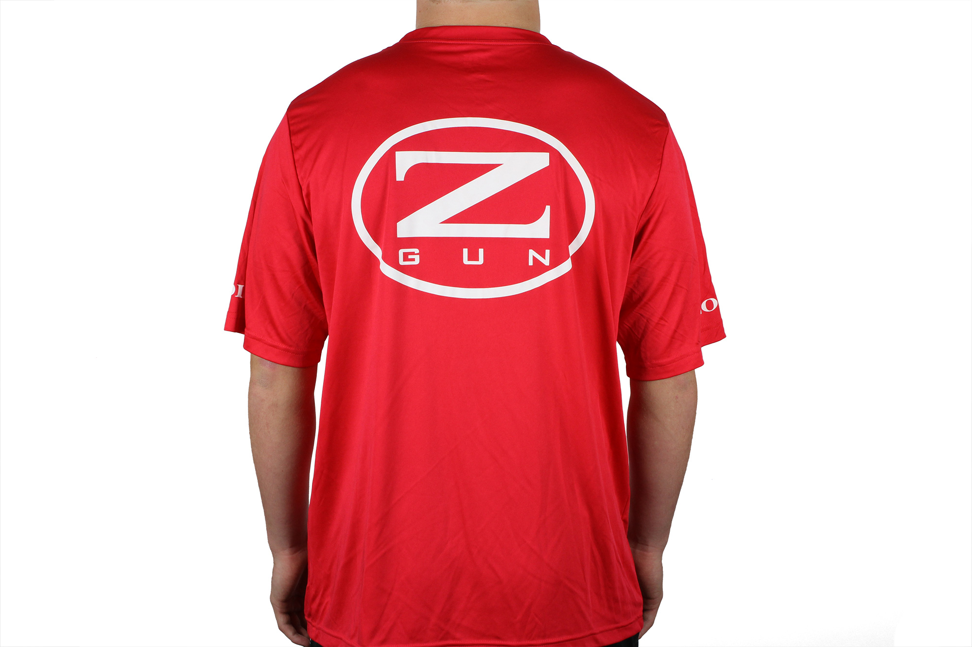 Zoli Z-GUN Red Sport Shirt back
