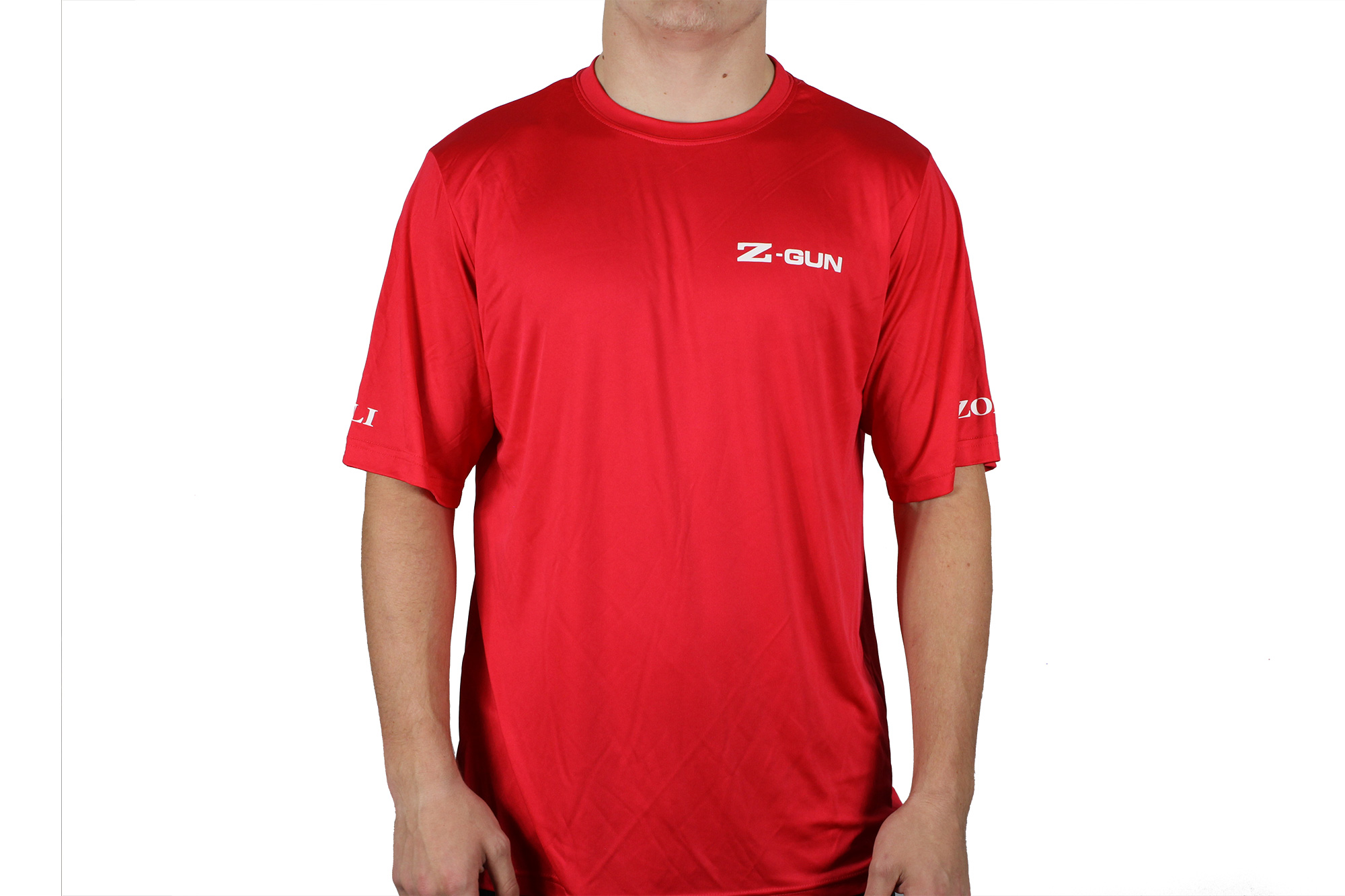 Zoli Z-GUN Red Sport Shirt Front