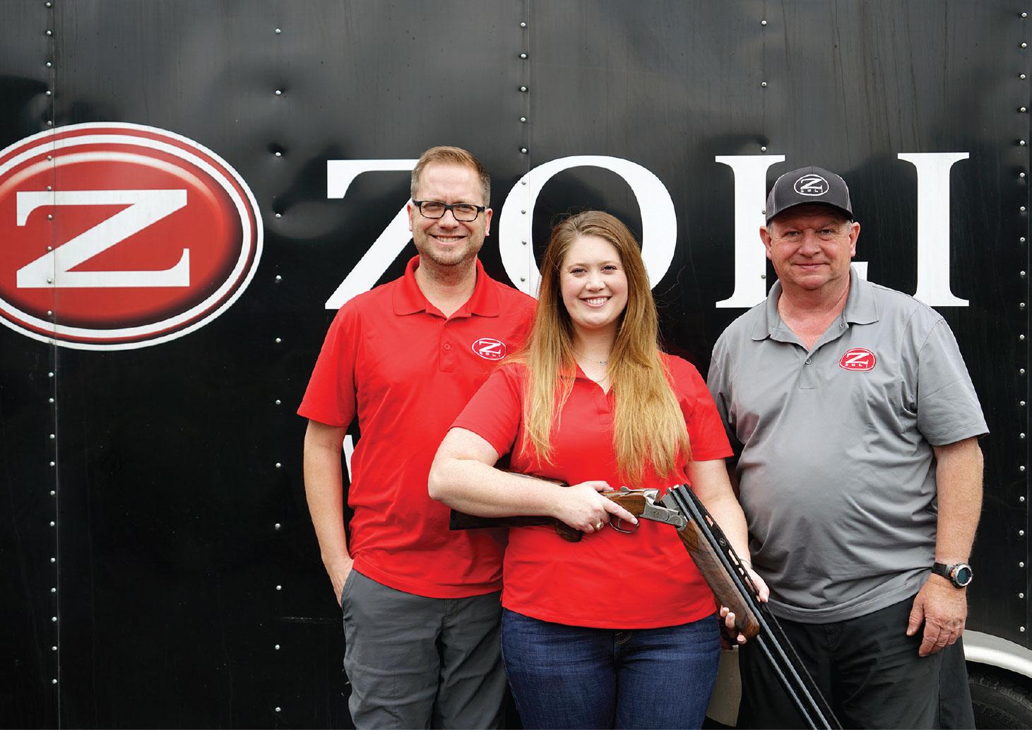 """Elite Shotguns And Zoli USA Team Up With Pro Shooter Bailey Glenewinkle"""