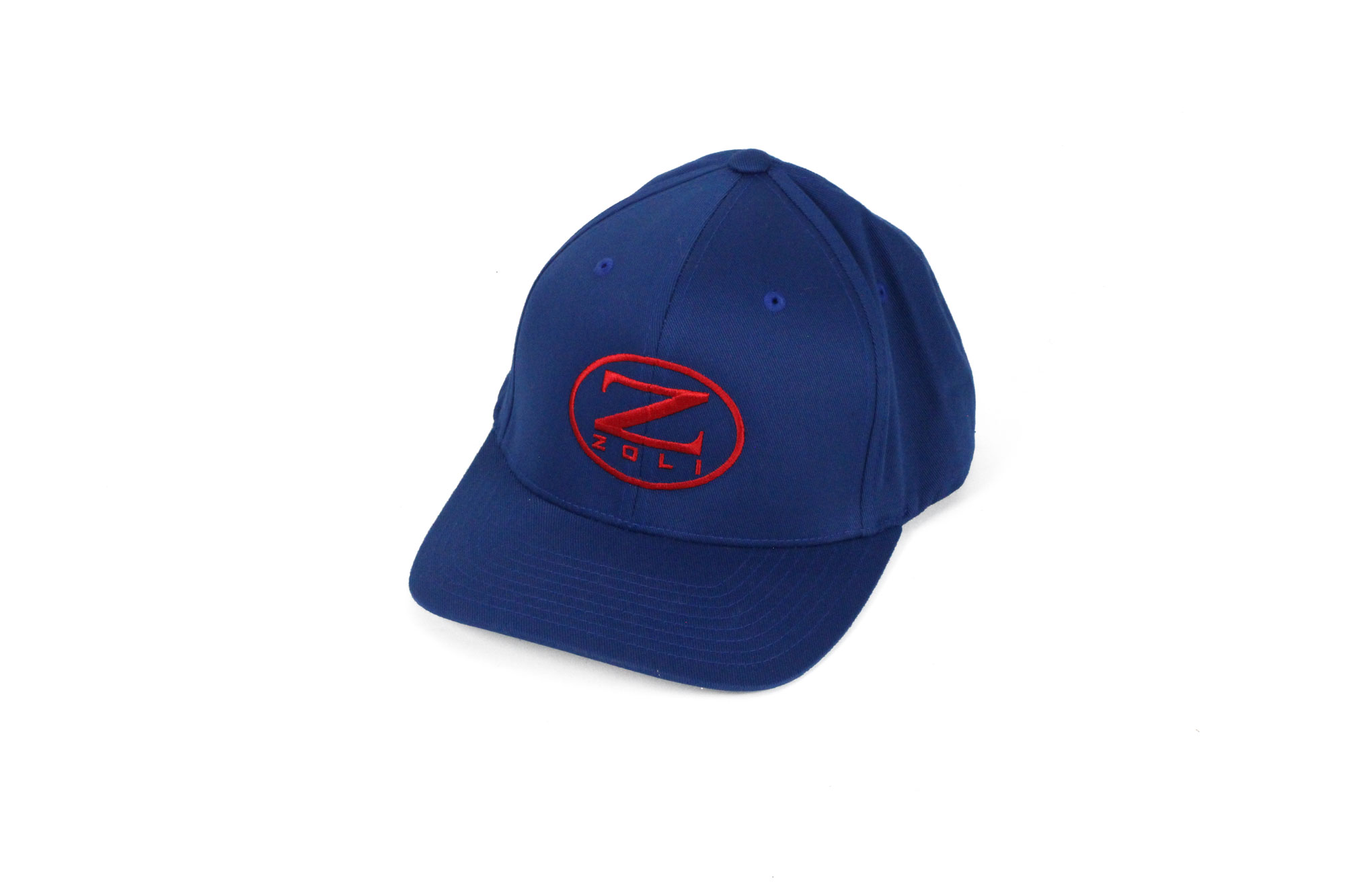 Zoli Embroidered Flexfit® Hat (Royal Blue)