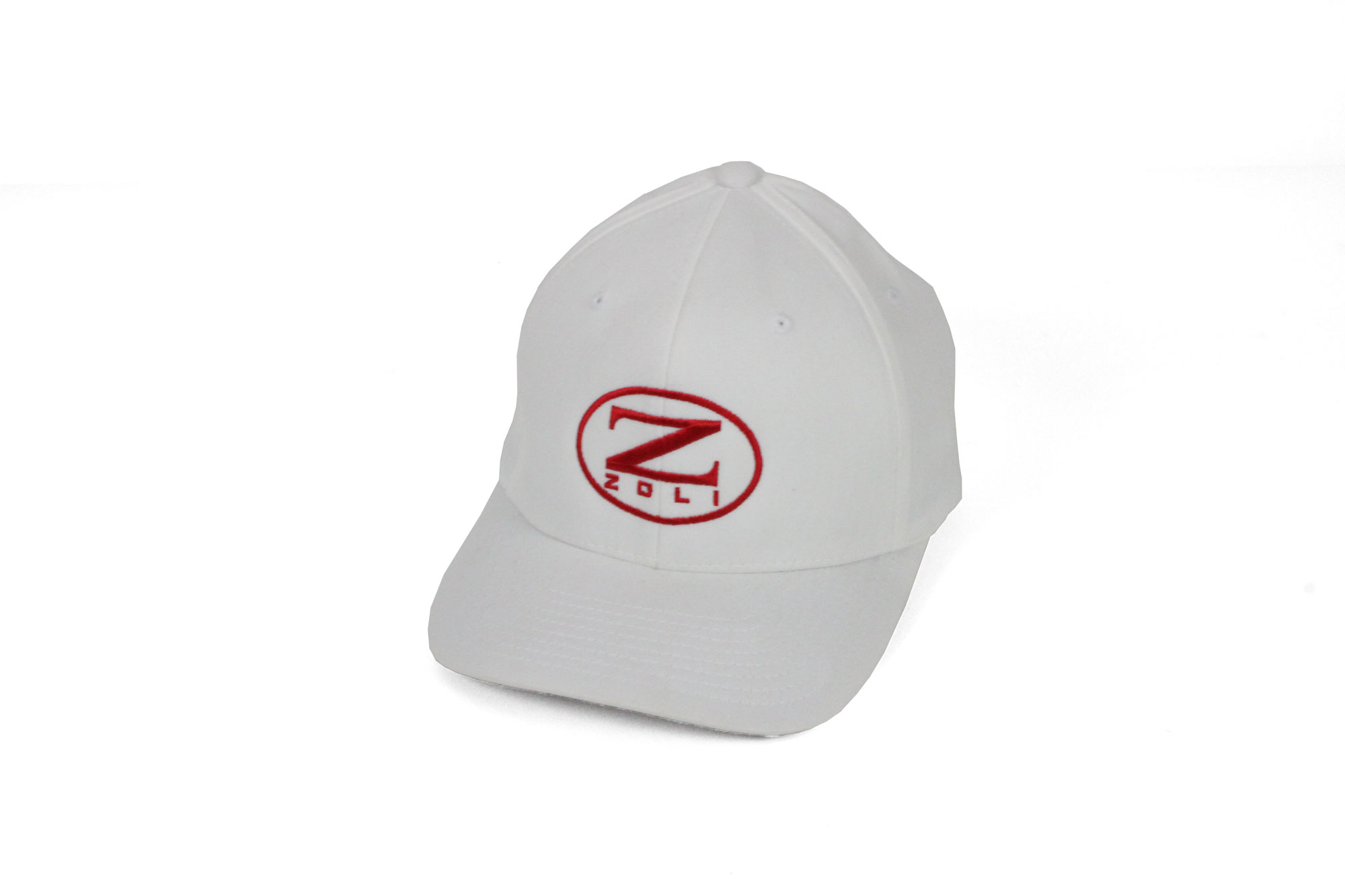 Zoli Embroidered Flexfit® Hat (White)