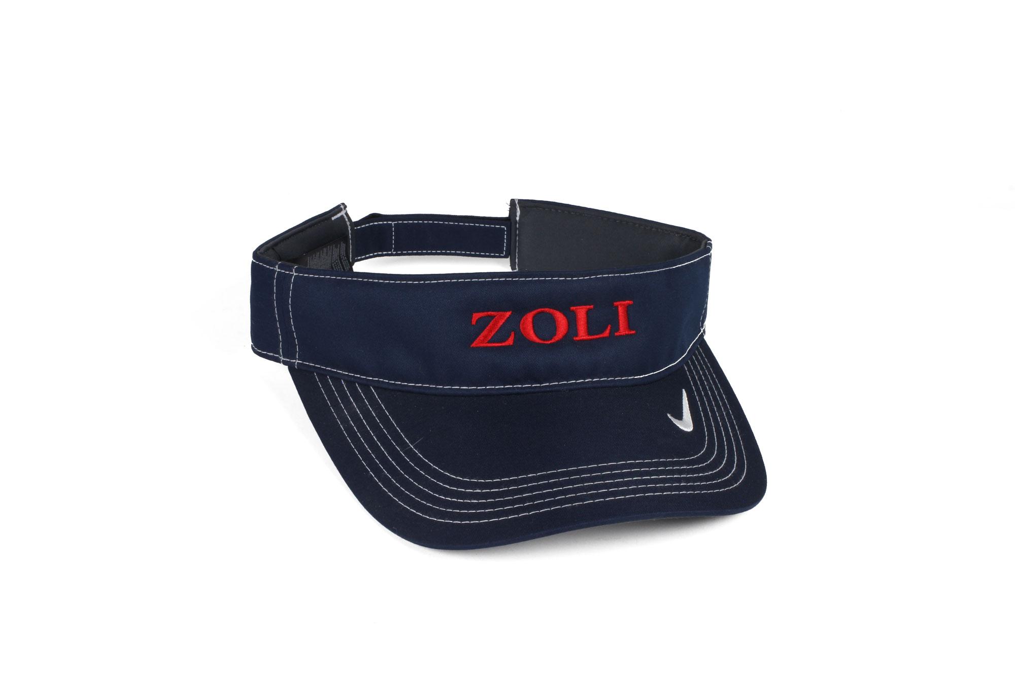 ZOLI Nike Dry Fit Embroidered Visor ( Navy )