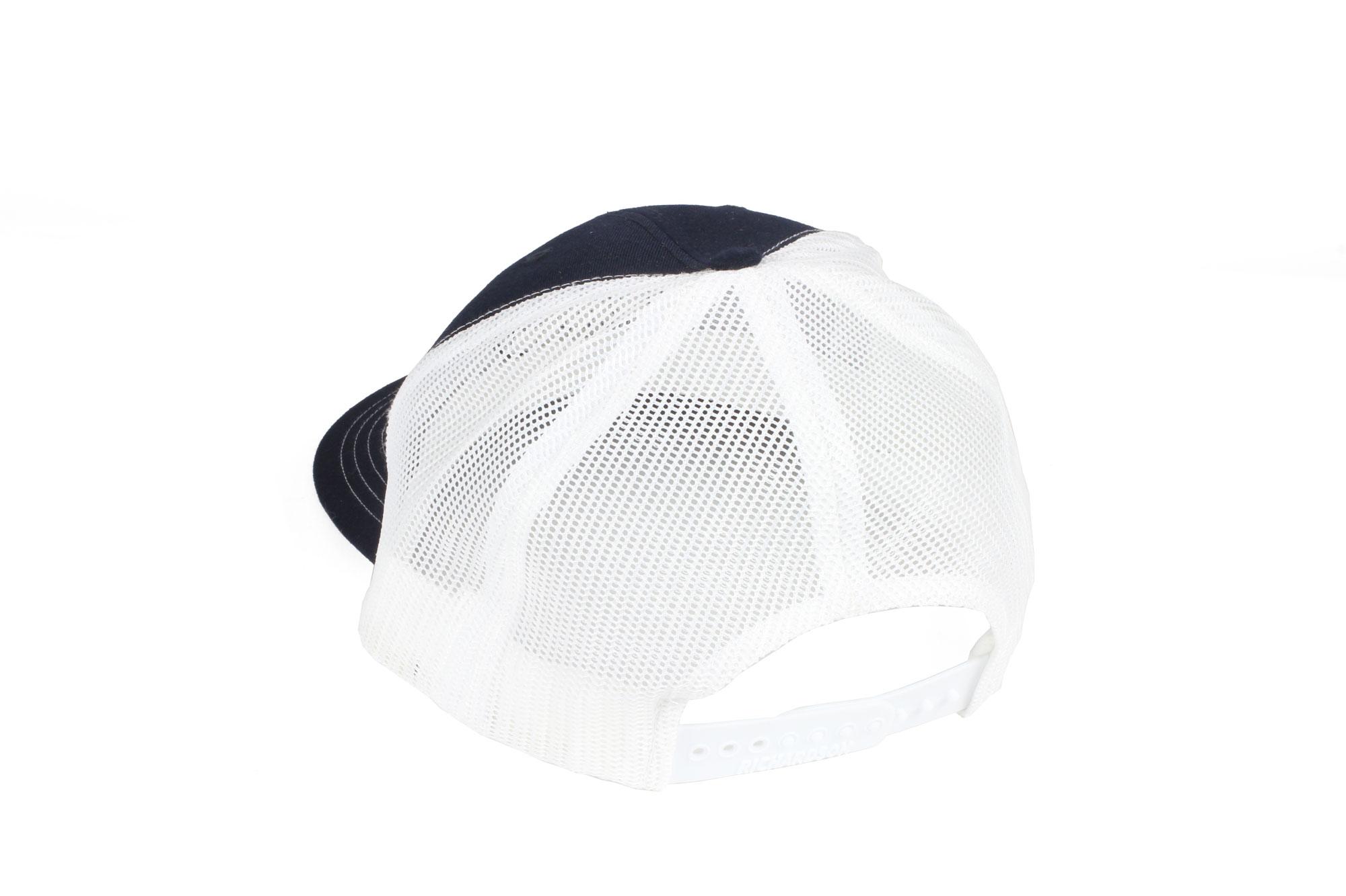 Zoli Navy Snapback Hat Patch Back