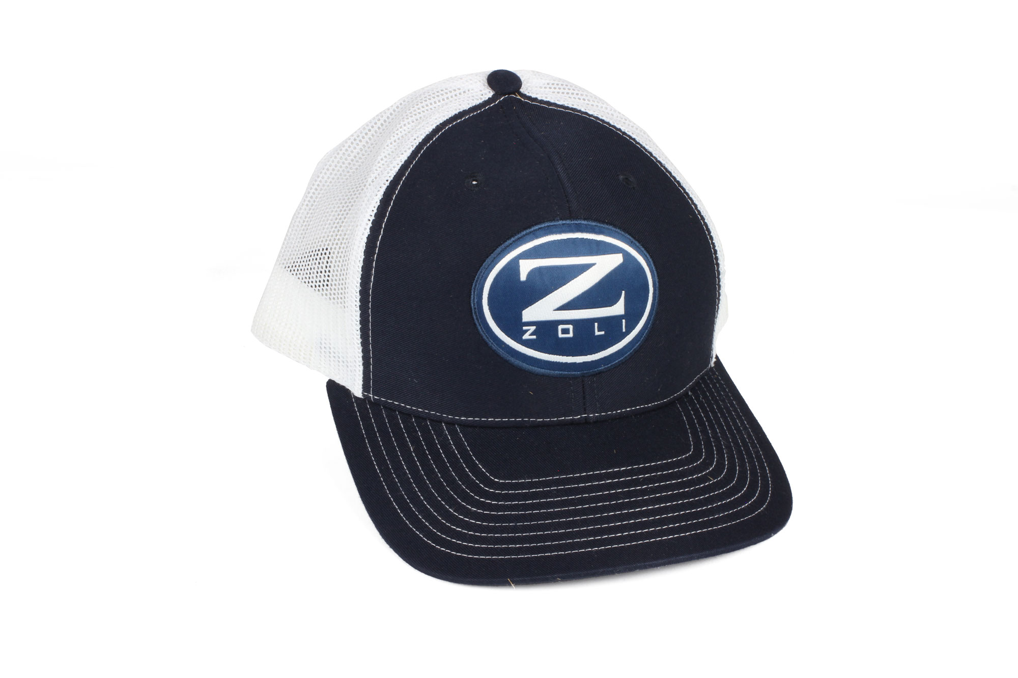 Zoli Navy Snapback Hat Patch
