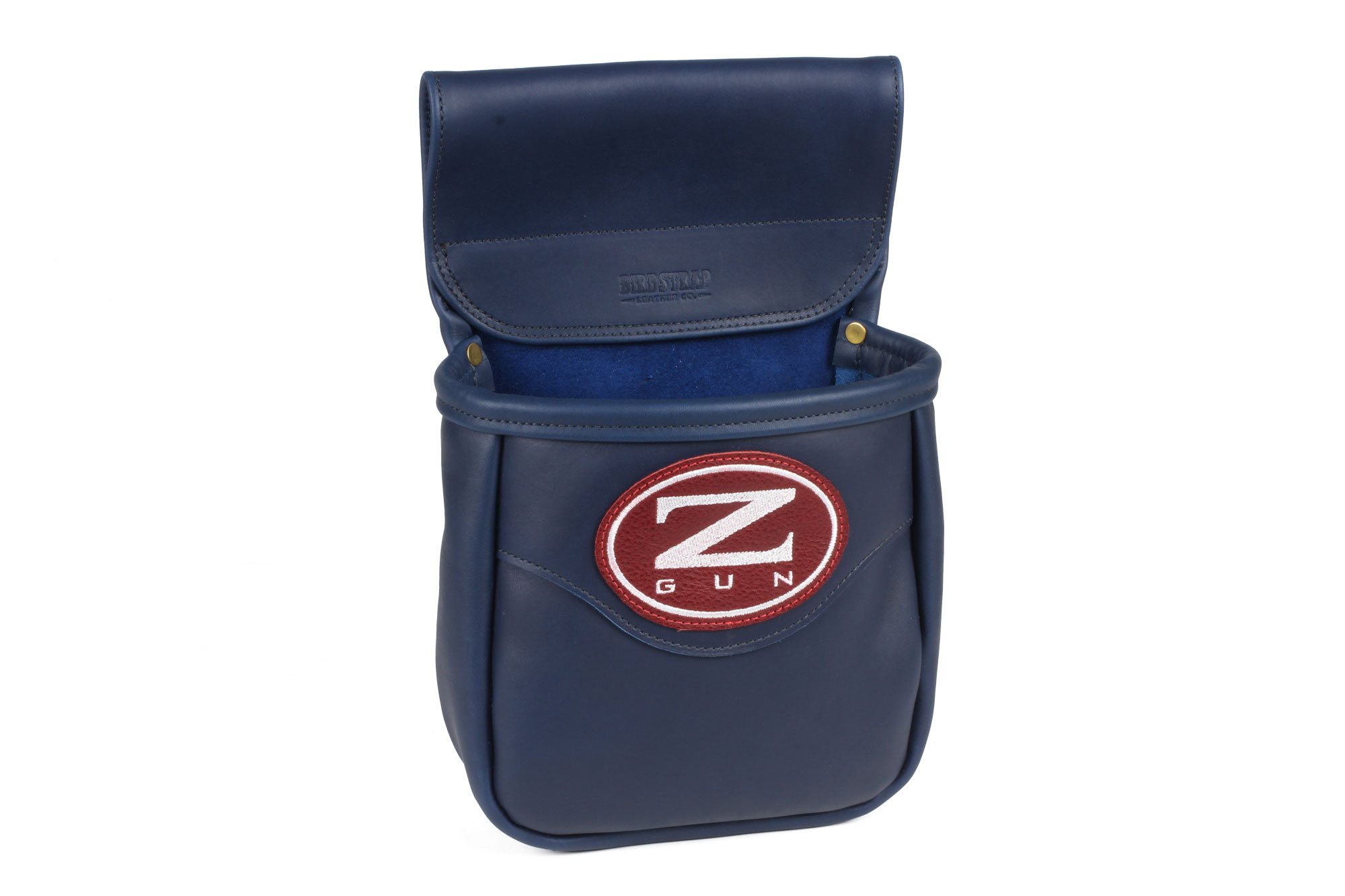 Zoli Leather Embroidered Shooting Pouch