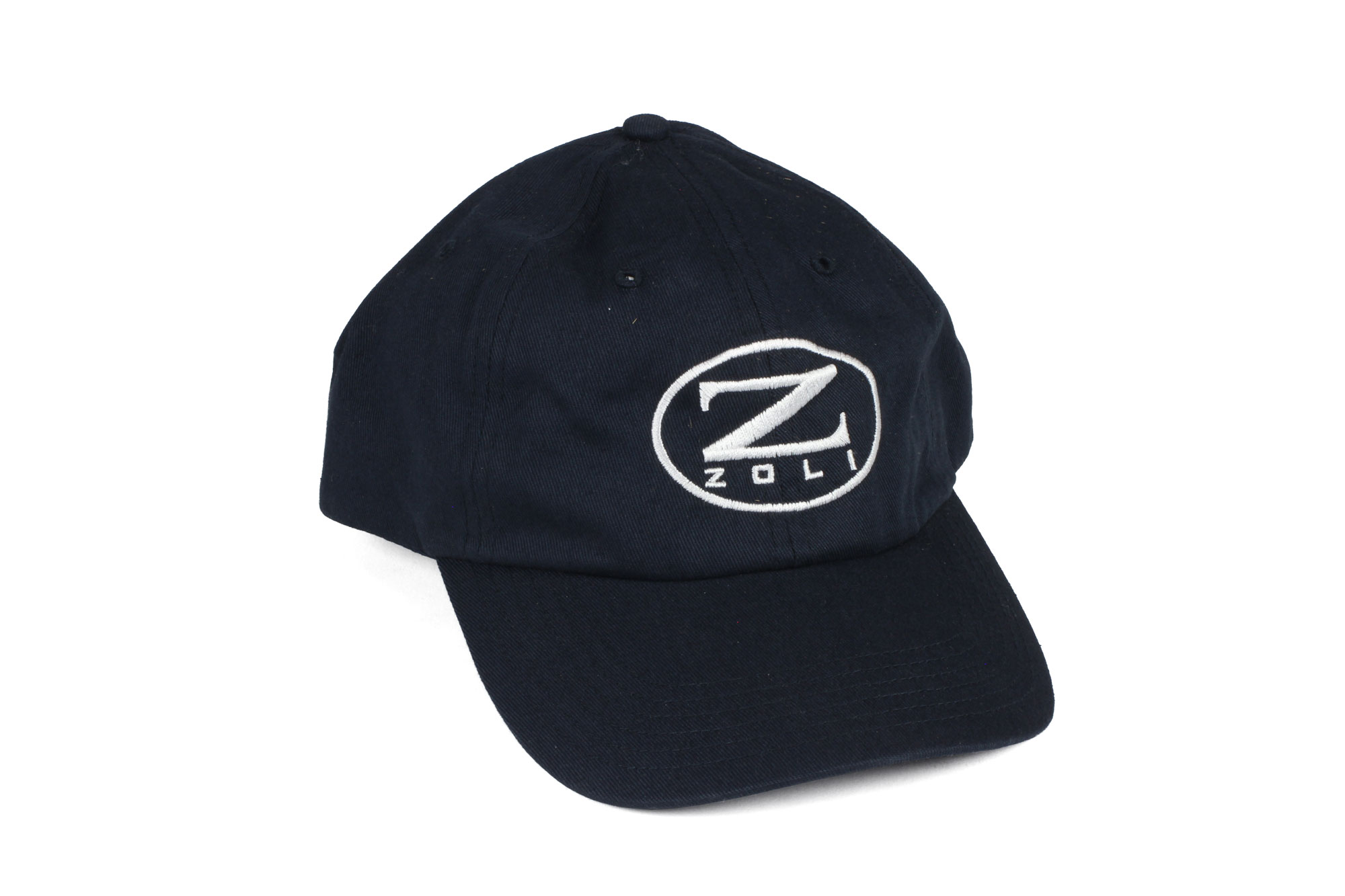 Zoli Embroidered Unstructured Hat (Navy)
