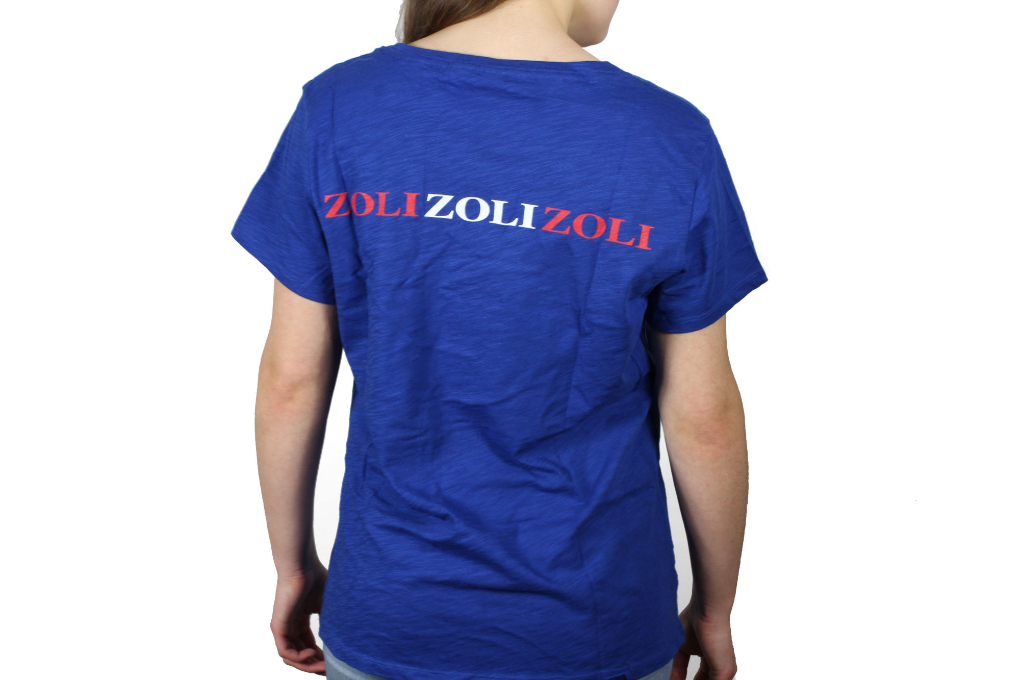 Zoli Women's V-Neck T-Shirt Back