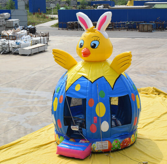 Easter Chick Bounce House