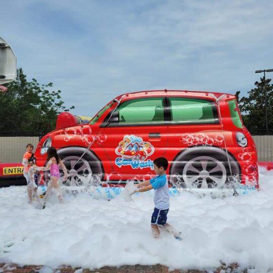Foam Party Car Wash