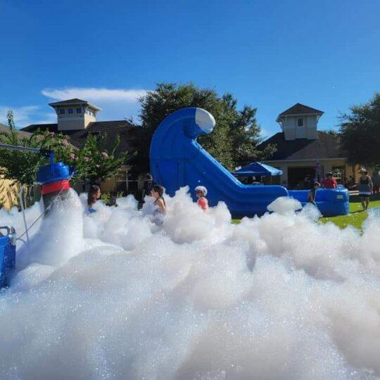 Foam Party with Foam Pit