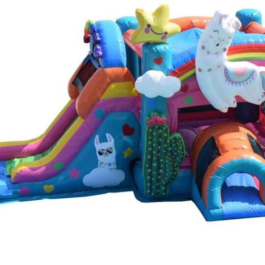 Llama Bounce House Combo