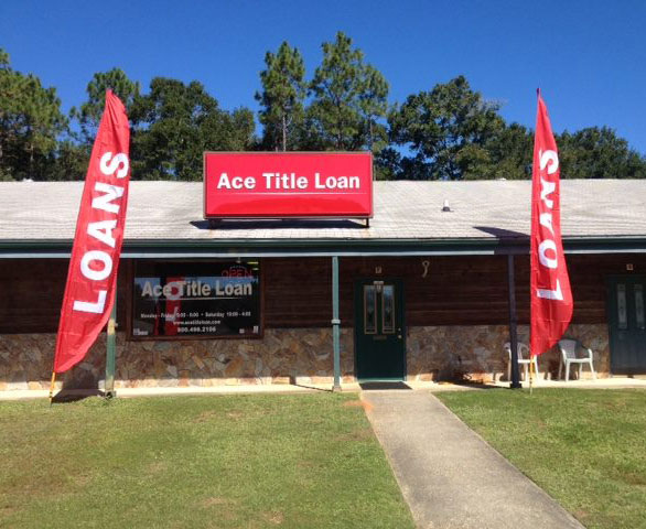 Ace Title Loan - One block past the bridge - Lillian, AL