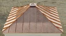 Custom Copper Cupola