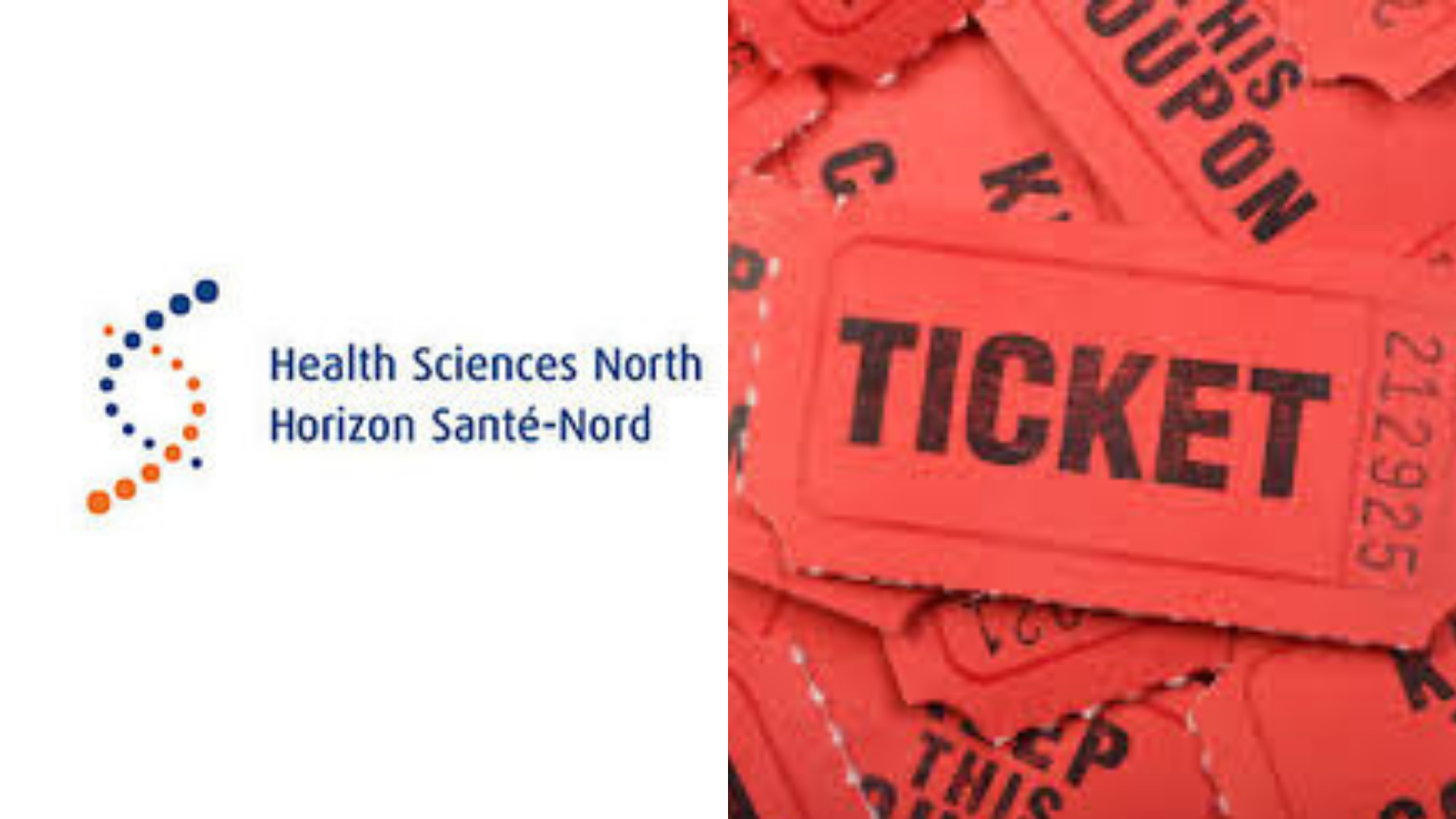Health Sciences North 50/50 Lottery