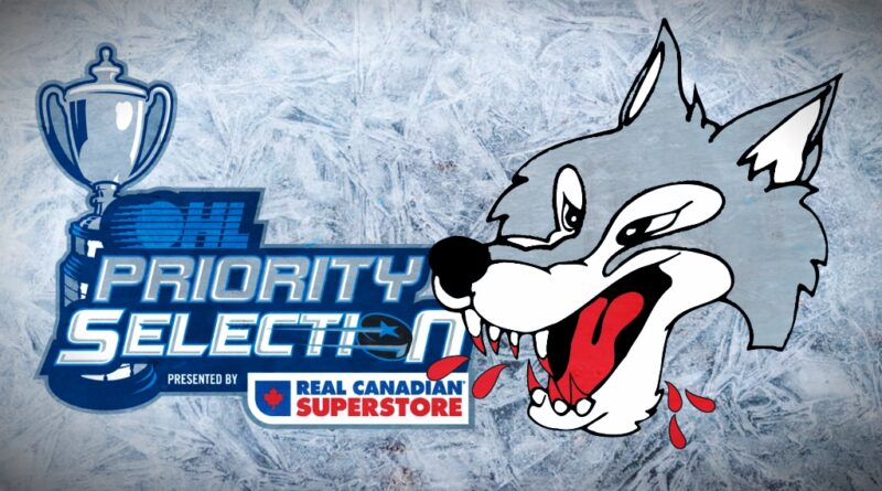 Sudbury Wolves Awarded First-Overall Selection In 2021 OHL Draft