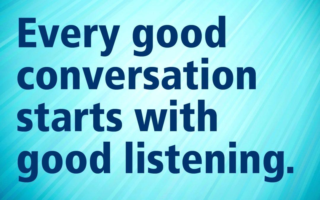 Can We Listen?