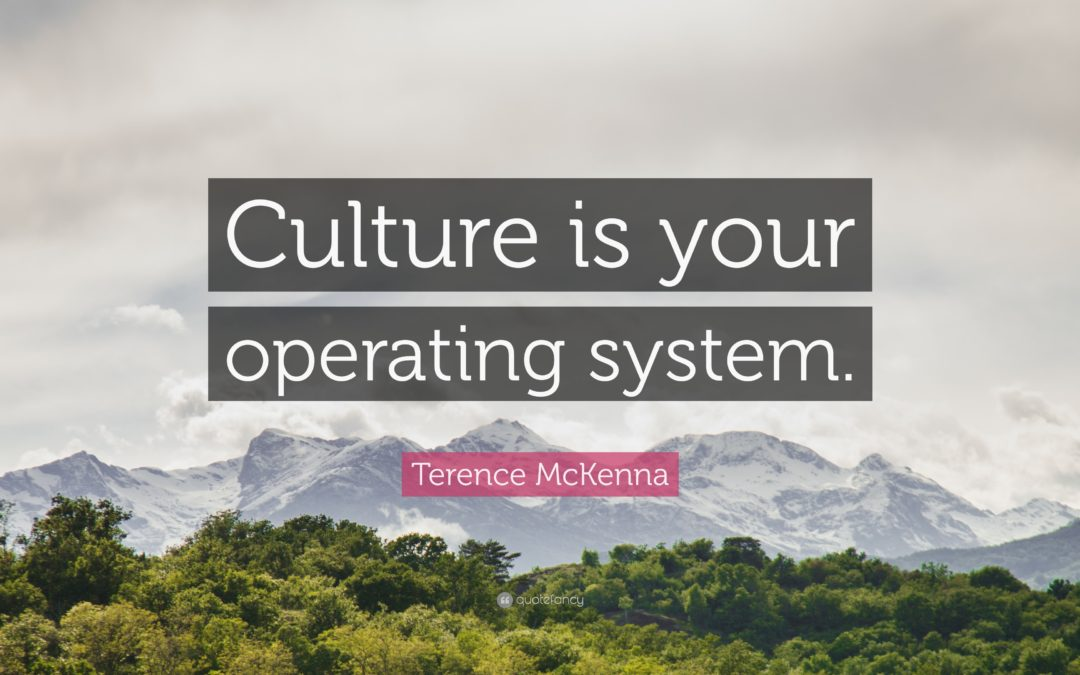 Culture is the New OS