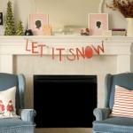 DIY Let It Snow Garland