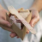 DIY Individual Pie Slice Box