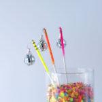 DIY Neon Disco Party Sticks