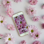 #properprintables \\ Purple Floral Wallpaper Download