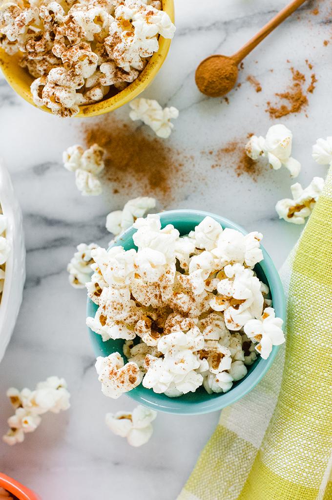 Coconut Cinnamon Popcorn