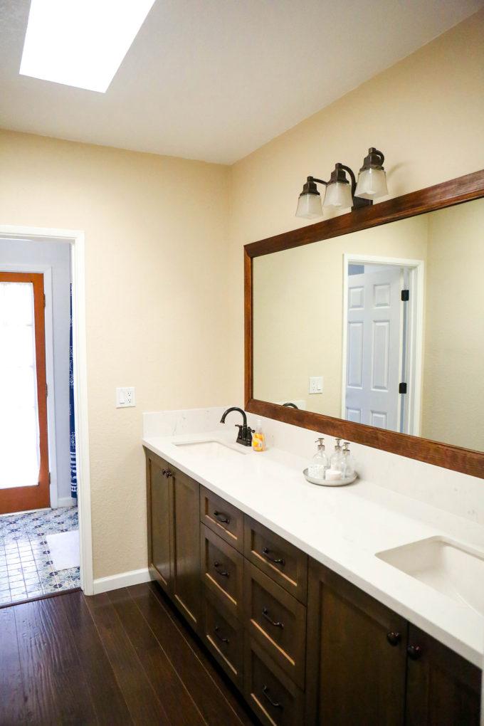 #ProperAtHome \\ Our DIY Weekend Guest Bath Renovation