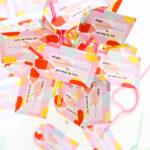#ProperPrintables \\ Painterly Printable Valentines