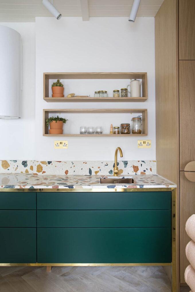 gorgeous kitchen backsplash ideas terrazzo