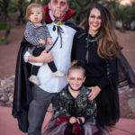 Sweet & Spooky \\ DIY Vampire Family Costume