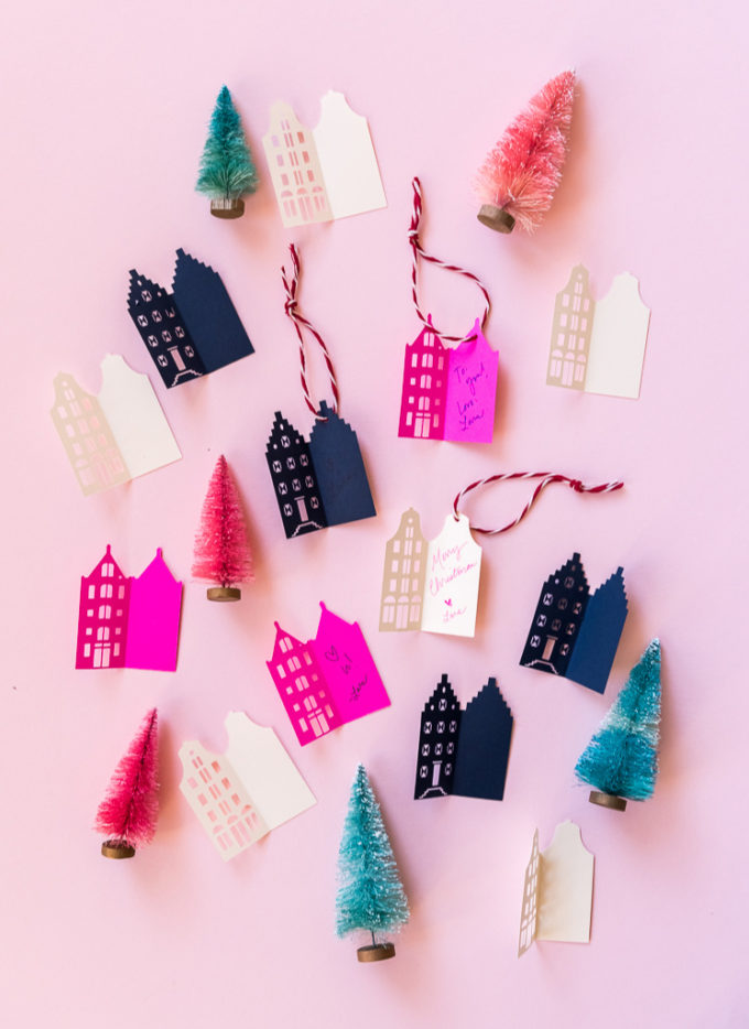 house gift tags for the holidays