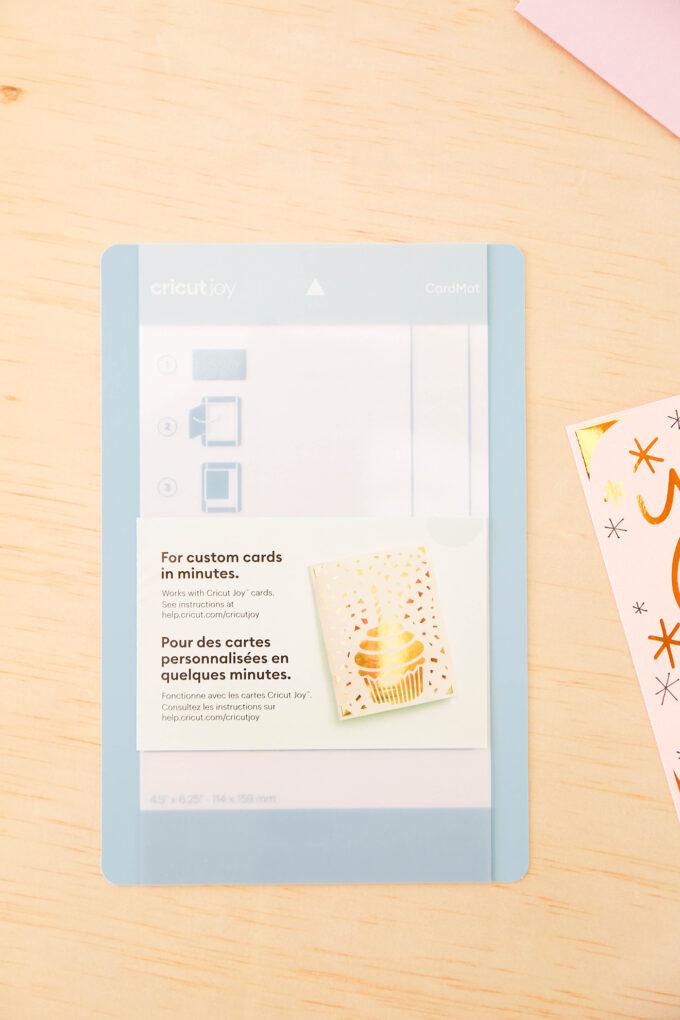 cricut joy card cutting mat