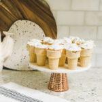 Funfetti Cupcake Cones \\ Childhood Treats To Treat Covid-19 Quarantine