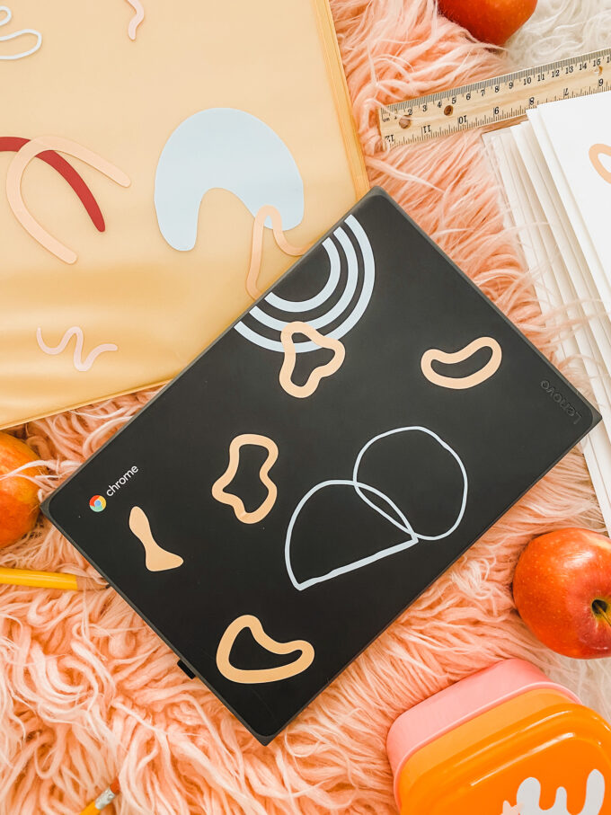 personalized accessories in flatlay