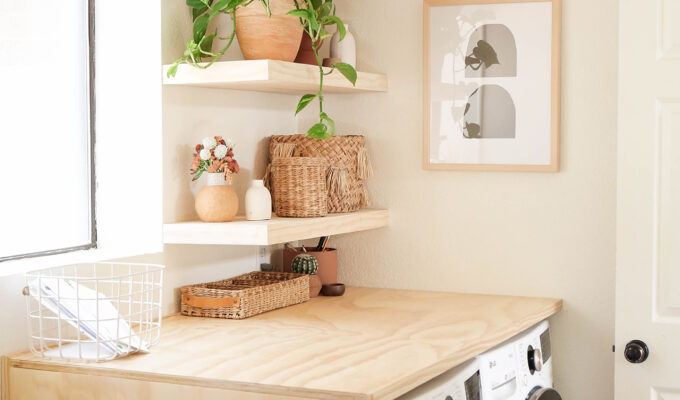 #ProperAtHome \\ The Official Reveal of The Laundry Room Makeover