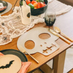 DIY Skull Placemat \\ Terrifying Tablescapes For Halloween
