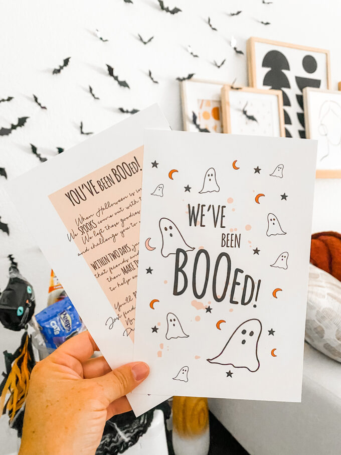 You've Been Booed Printable