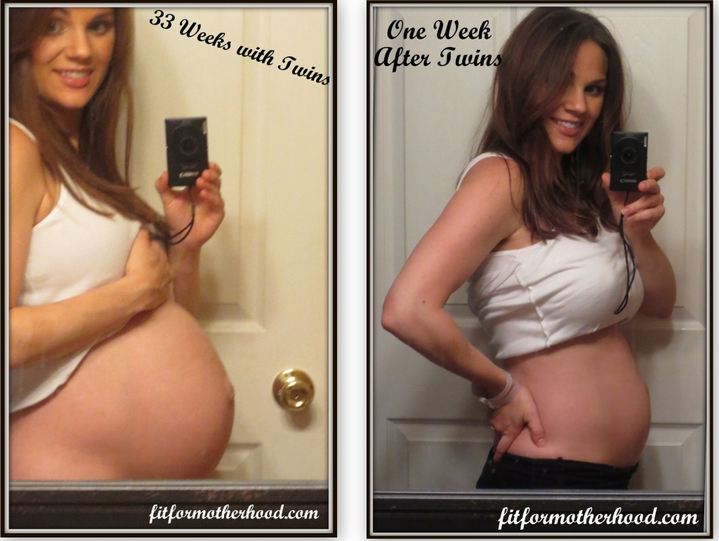 33 week and 1 week After bare sides