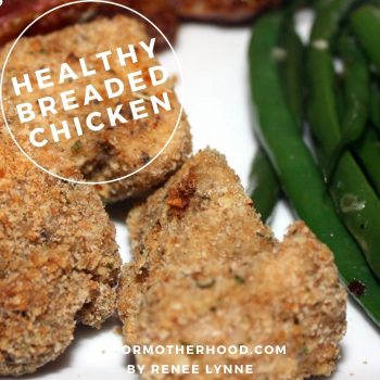 Air-fryer or Baked Breaded Chicken Nuggets