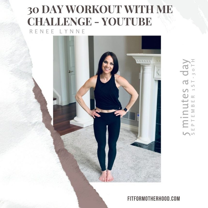 30 Day Workout with Me Challenge