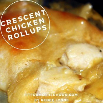 Crescent Chicken Rollups   Easy Dinner Idea