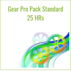 The Gear Pro Pack Standard - 25 HRs/MO