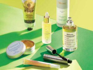 Beauty products made with CBD Hemp Seeds