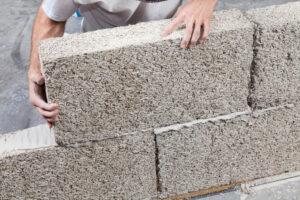 Example of building matierials from hemp